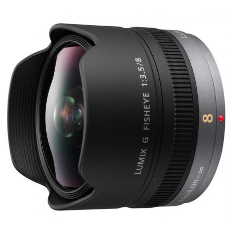 Panasonic Lumix G 8mm f/3.5 Fisheye (употребяван)