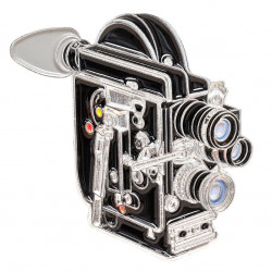 значка Official Exclusive 16mm Bolex Cinema Camera Pin