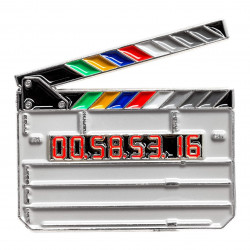 значка Official Exclusive Clapperboard Pin