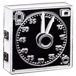 значка Official Exclusive GraLab Model 300 Darkroom Clock Pin