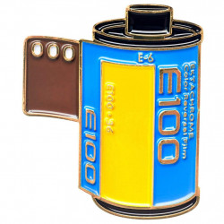 значка Official Exclusive Kodak Ektachrome 100 Film Canister Pin
