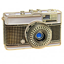 значка Official Exclusive Olympus Trip 35 Fixed Lens Rangefinder Pin