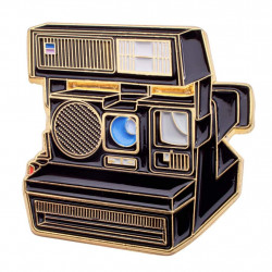 значка Official Exclusive Polaroid 600 Instant Camera Pin