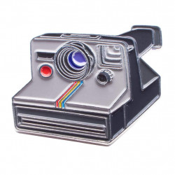 значка Official Exclusive Polaroid One Step Rainbow Instant Camera Pin