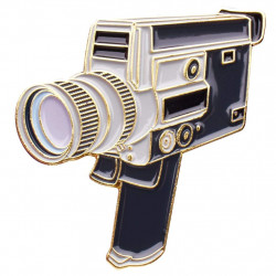 значка Official Exclusive Canon Super 8mm Camera Pin