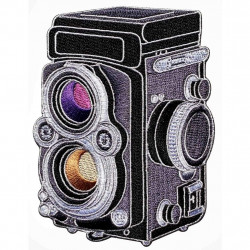 фото-сувенир Official Exclusive Rolleiflex 2.8f 3.5 Medium Format Camera Patch