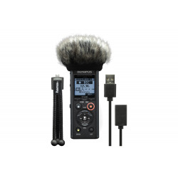 Olympus LS-P4 Linear PCM Recorder Podcaster Kit