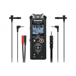 Audio recorder Olympus LS-P4 Linear PCM Recorder Interviewer Kit