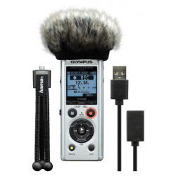 Olympus LS-P1 LineArt PCM Recorder Podcaster Kit