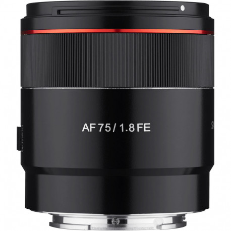 Lens Samyang AF 75mm f / 1.8 FE - Sony E (FE) + Accessory Samyang Lens Station - Sony E