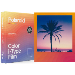 Film Polaroid i-Type Color Wave Edition color