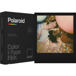 Film Polaroid i-Type Black Frame Edition color
