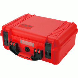 "Hard Case with foam for 5/7 ""monitor (red)"