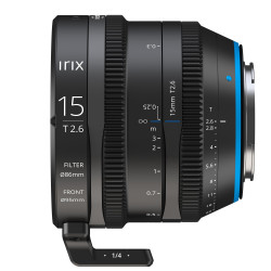 Lens Irix Cine 15mm T / 2.6 - PL