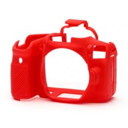 аксесоар EasyCover ECC90DR - Силиконов протектор за Canon 90D (червен)