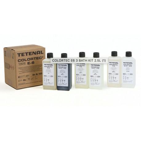 Tetenal Colortec E-6 Kit 2.5l