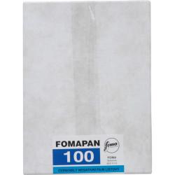 """фото филм Foma Fomapan 100 4 x 5"""" (101.6 x 127 mm) 25 плаки"""