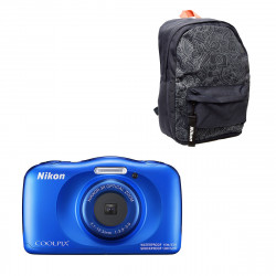 Nikon Coolpix W150 Blue + Backpack