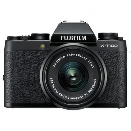Fujifilm X-T100 (черен) + Fujinon XC 15-45mm f/3.5-5.6 OIS PZ (преоценен)