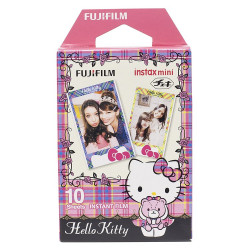 FUJIFILM INSTAX MINI HELLO KITTY INSTANT FILM 10 SHEETS