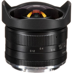 Lens 7artisans 7.5mm f / 2.8 Fisheye - Canon EOS M