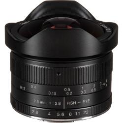 Lens 7artisans 7.5mm f / 2.8 Fisheye - MFT
