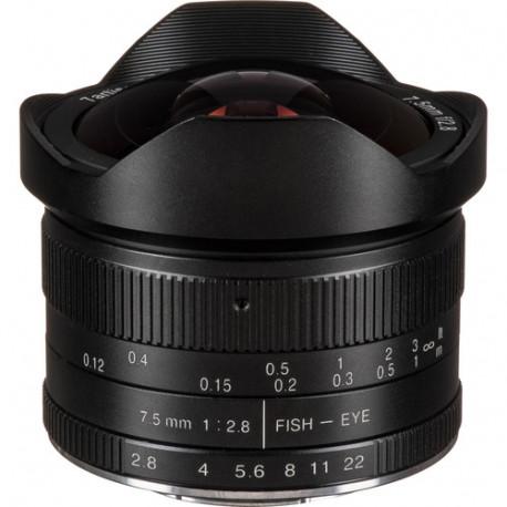 7.5mm f/2.8 Fisheye - MFT