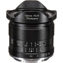 Lens 7artisans 12mm f / 2.8 - MFT