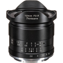 Lens 7artisans 12mm f / 2.8 - Canon EOS M