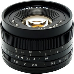 Lens 7artisans 50mm f / 1.8