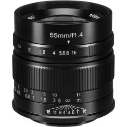Lens 7artisans 55mm f / 1.4