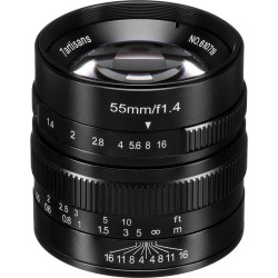 обектив 7artisans 55mm f/1.4 - MFT