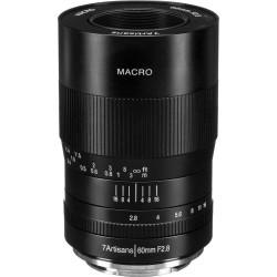 Lens 7artisans 60mm f / 2.8 Macro