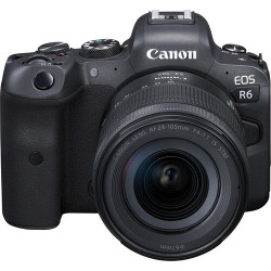 фотоапарат Canon EOS R6 + обектив Canon RF 24-105mm f/4-7.1 IS STM + обектив Canon RF 50mm f/1.8 STM