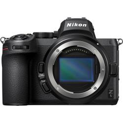фотоапарат Nikon Z5 + обектив Nikon NIKKOR Z 24-50mm f/4-6.3 + адаптер Nikon FTZ (адаптер за F обективи към Z камера)