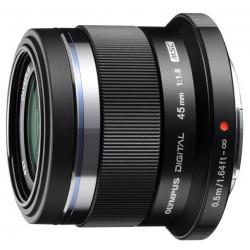 обектив Olympus ZD Micro 45mm f/1.8 MSC (употребяван)