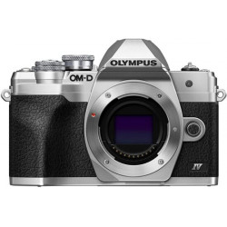 Camera Olympus OM-D E-M10 Mark IV (silver) + Lens Olympus MFT 45mm F/1.8 MSC