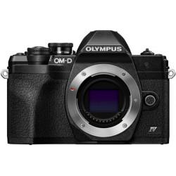 фотоапарат Olympus OM-D E-M10 Mark IV (черен) + обектив Olympus ZD Micro 14-42mm f/3.5-5.6 EZ ED MSC (черен)