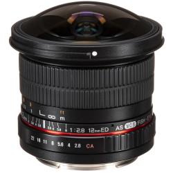 Samyang 12mm f/2.8 ED AS NCS Fisheye - Canon EOS M