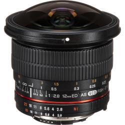 Samyang 12mm f/2.8 ED AS NCS Fisheye - Fujifilm X