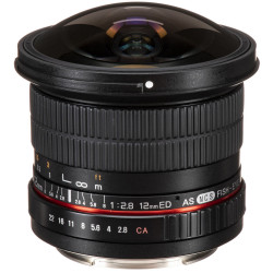 Samyang 12mm f/2.8 ED AS NCS Fisheye - MFT