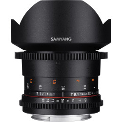 Samyang 14mm T/3.1 VDSLR ED AS IF UMC II - Canon EOS M