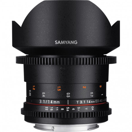 SAMYANG 14MM T/3.1 VDSLR ED AS IF UMC II - CANON M