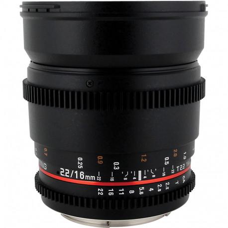 Samyang 16mm T/2.2 VDSLR ED AS UMC CS II - Nikon F