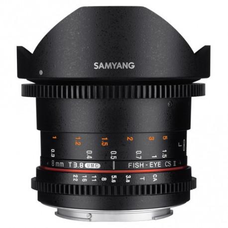 Samyang 8mm T/3.8 VDSLR UMC Fisheye CS II - MFT