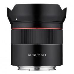 Lens Samyang AF 18mm f / 2.8 FE - Sony E (FE) + Accessory Samyang Lens Station - Sony E