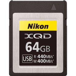Nikon XQD 64GB 440R/400W