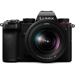 фотоапарат Panasonic Lumix S5 + обектив Panasonic S 20-60mm f/3.5-5.6