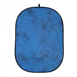 фон Helios 428418 сгъваем фон 150 x 200 см (син деним / кафяв)