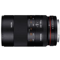 Lens Samyang 100mm f / 2.8 ED UMC Macro - Sony E